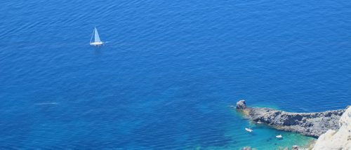 Capo d'Uomo beach
