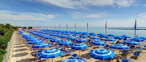 Lido di Fermo beach