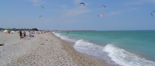 Beach of Marina Faleriense