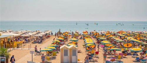 Bibione Pineda beach