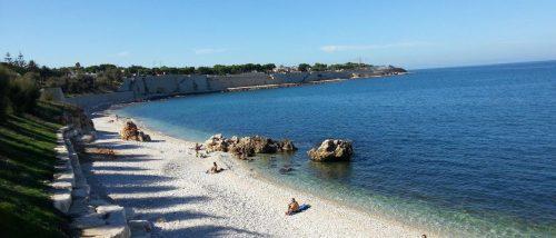 Bisceglie beach