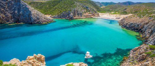 Cala Domestica beach