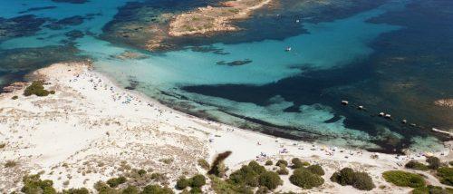 Capo Comino beach