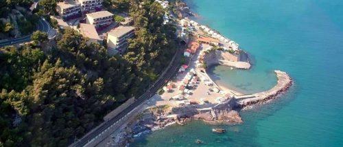Capo Mimosa beach