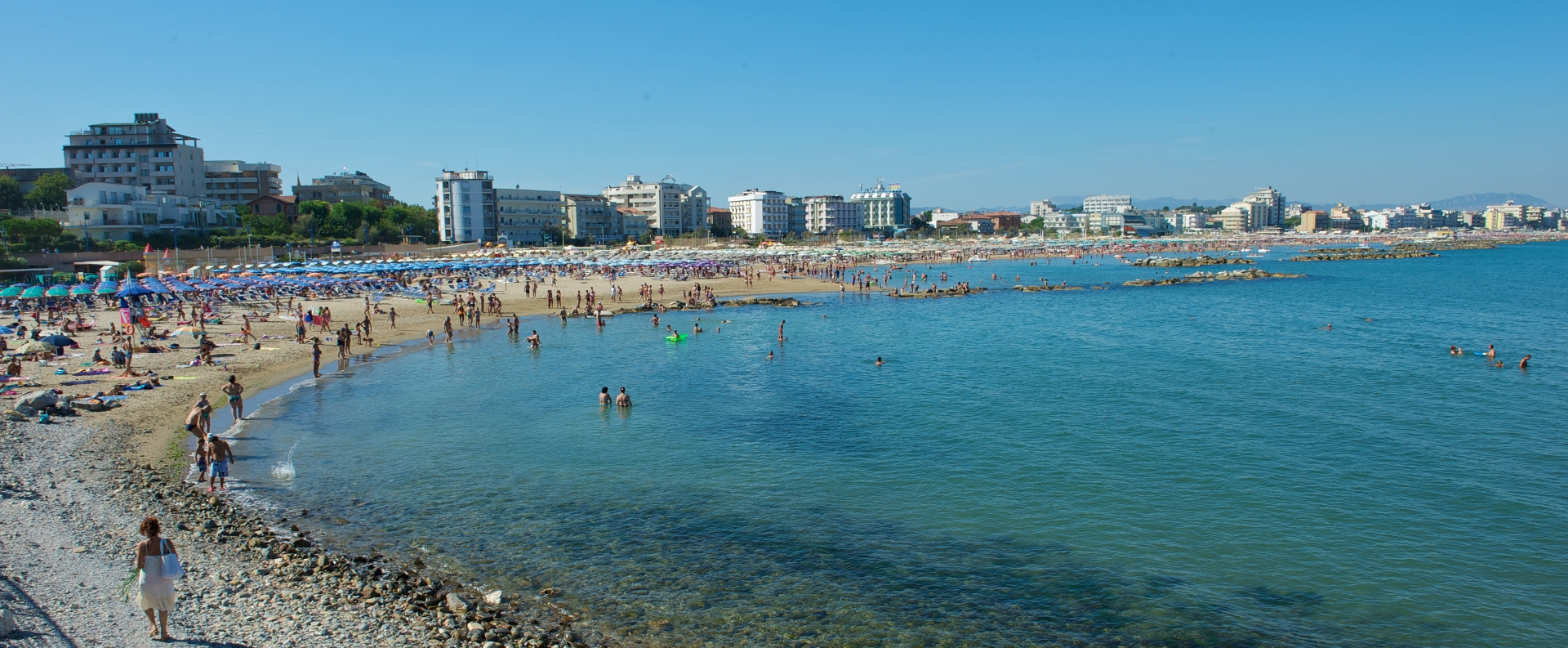 Cattolica beach