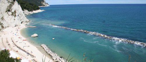 Numana beach