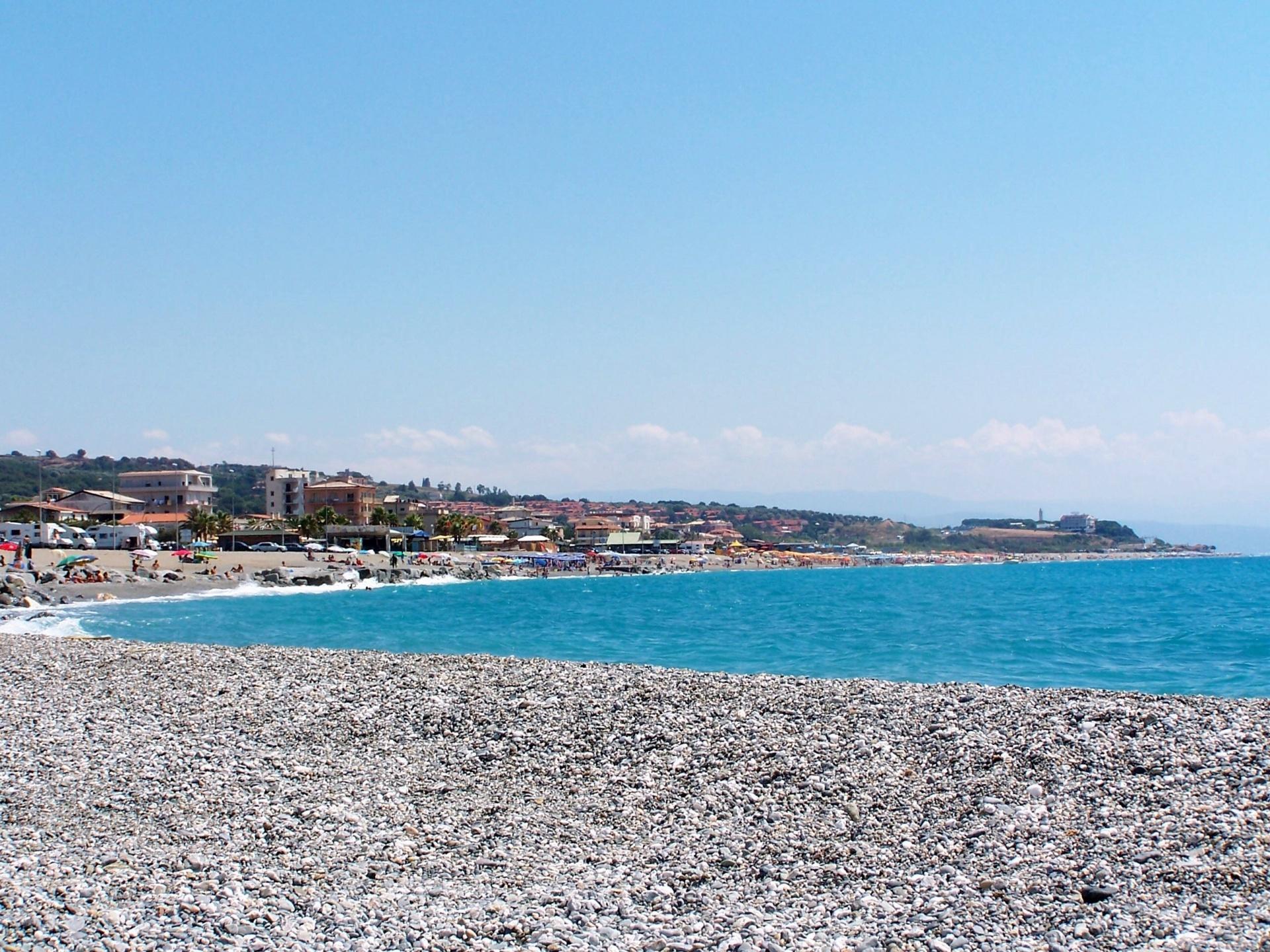 Falerna Marina beach