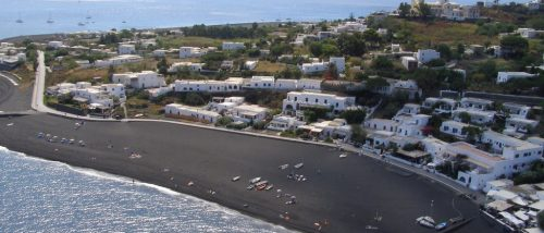 Ficogrande of Stromboli beach