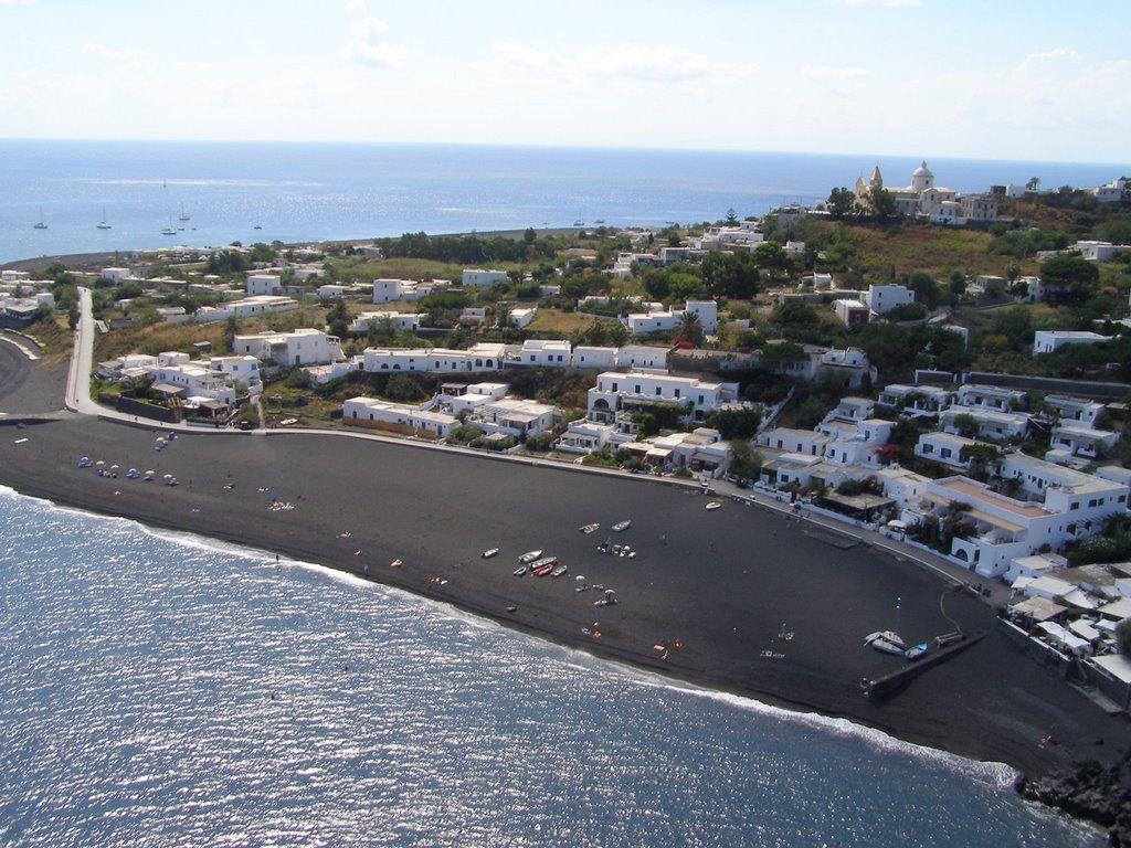 Ficogrande of Stromboli beach