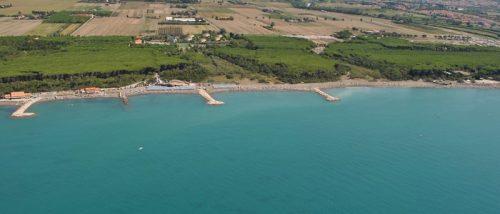 Le Gorette beach