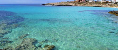 Lampedusa Island Beach