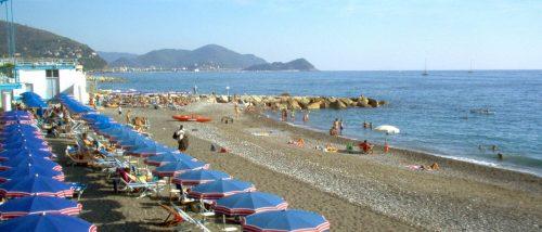 Lavagna beach