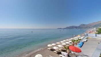 Letojanni Beach, Sicily, Italian beaches