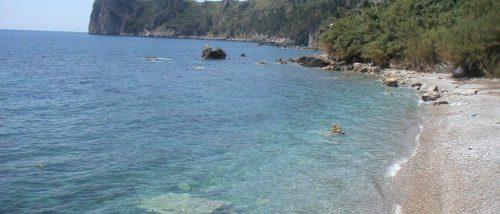 Marina del Cantone beach