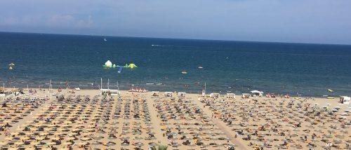 Miramare beach of Rimini