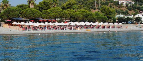Beach of Montegiordano Marina