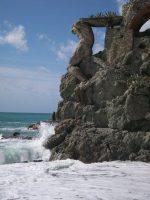 Spiaggia Monterosso - Statua Gigante