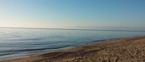 Paestum beach