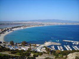 Spiaggia del Poetto di Cagliari - Sardegna