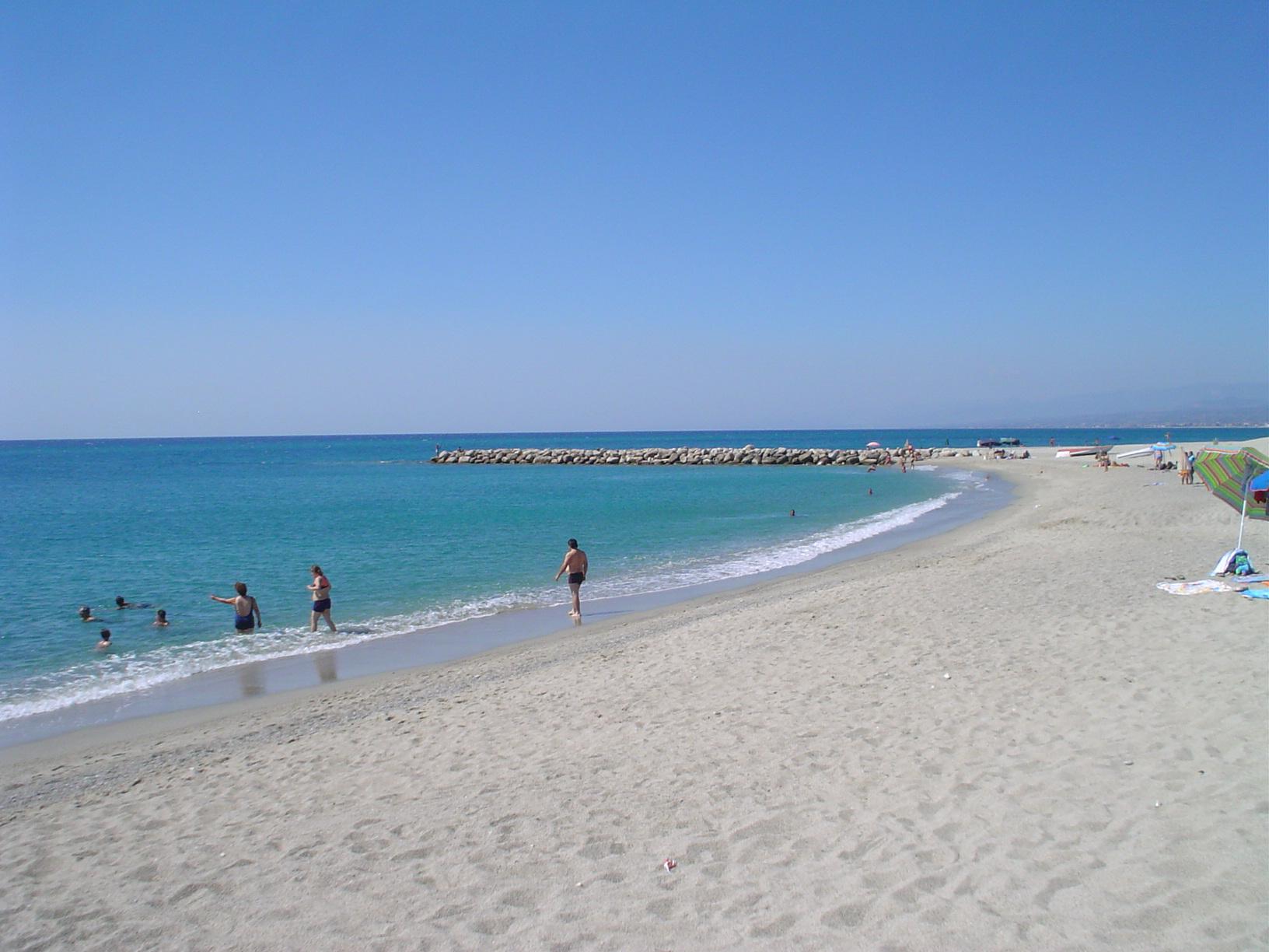 Roccella Ionica beach
