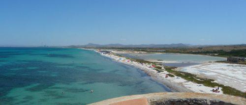 Beach of the Saline of Stintino