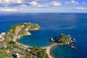 Spiaggia Taormina, Sicilia