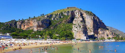 Terracina beach