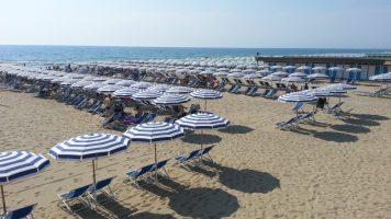 Spiaggia Tirrenia, Pisa, Toscana