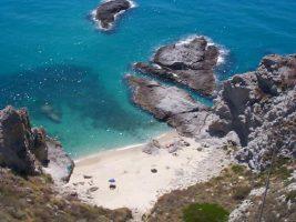 Spiaggia Capo Vaticano - Grotticelle - Calabria