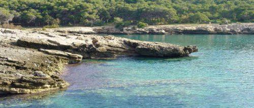 Cliff of Porto Selvaggio