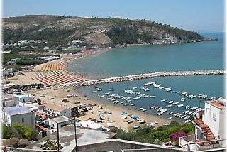 Manfredonia beach