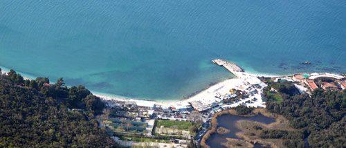 Portonovo beach