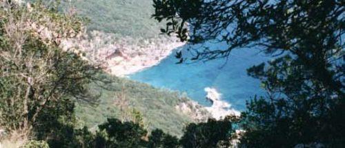 Cala Biriola beach