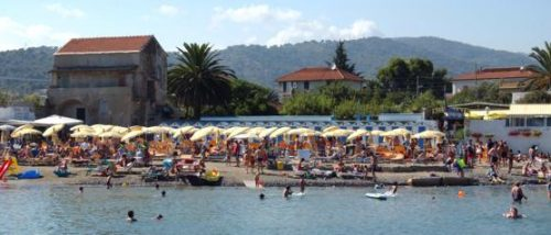 Cervo Ligure beach