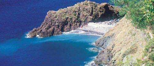 Beach of the Bay of Framura