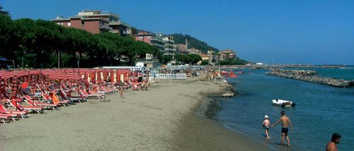 Imperia beaches