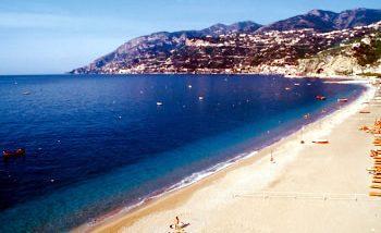 Maiori beach
