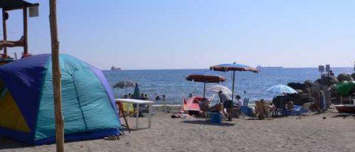 Zinola beach