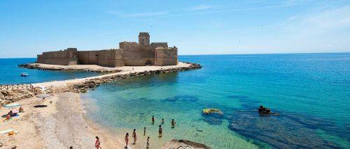 Le Castella beach