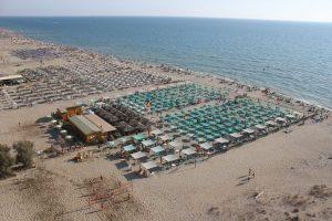 Spiaggia di Marina di Torre del Lago Puccini, Versilia, Toscana