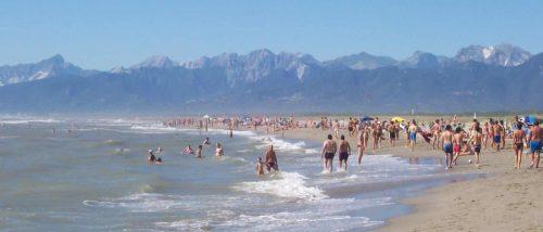 Marina di Vecchiano beach
