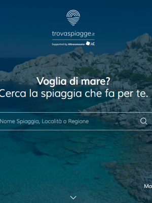 Vote for your favorite beach on www.trovaspiagge.it