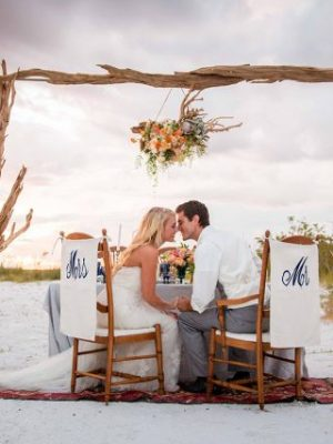 Beach wedding: where to celebrate it?