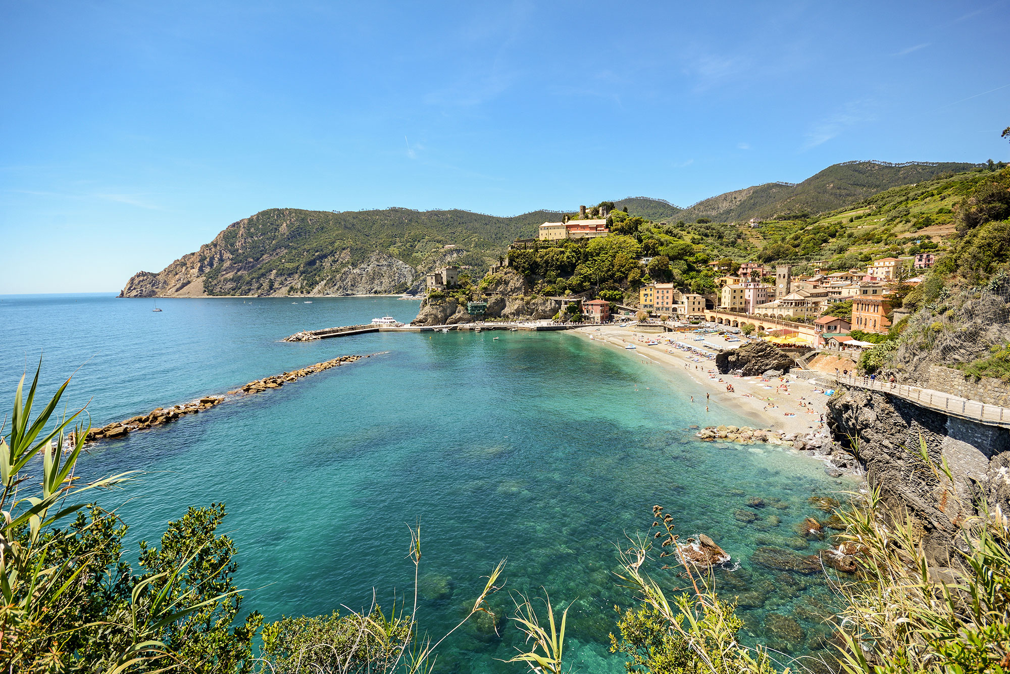 Beaches of Monterosso al Mare