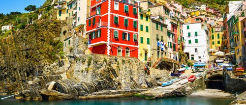 Beaches of Riomaggiore