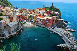 Spiagge Vernazza - Cinque Terre - Liguria