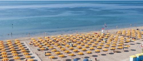 Grado Pineta beach