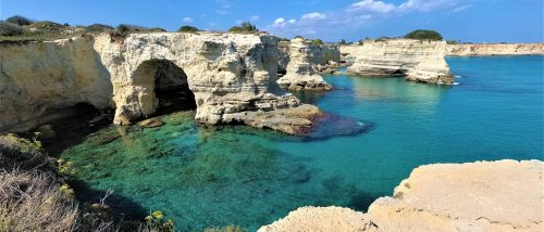 Torre Sant'Andrea beach