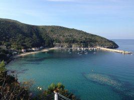 Spiaggia del Porto di Palinuro, Campania