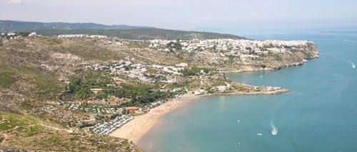 Baia di San Nicola beach